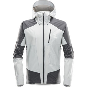 Haglöfs M's Skarn Hybrid Jacket Stone Grey/Magnetite